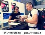 fitness membership at the... | Shutterstock . vector #1060490885