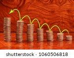 sorting of coins in ascending... | Shutterstock . vector #1060506818