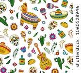 cinco de mayo celebration in... | Shutterstock .eps vector #1060528946