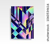 abstract multicolored cover.... | Shutterstock .eps vector #1060534616