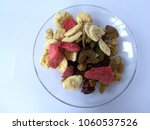healthy food  mix dried fruits...   Shutterstock . vector #1060537526