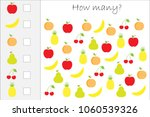 how many counting game with... | Shutterstock .eps vector #1060539326
