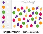 how many counting game with... | Shutterstock .eps vector #1060539332