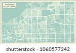 anchorage alaska usa city map... | Shutterstock .eps vector #1060577342
