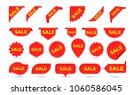sale stickers shop product tags ... | Shutterstock .eps vector #1060586045