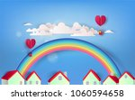 Beautiful Rainbow And Heart...