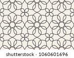 oriental linear geometric... | Shutterstock .eps vector #1060601696