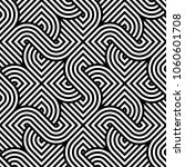 vector geometric pattern.... | Shutterstock .eps vector #1060601708