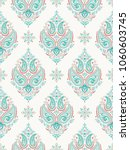 mandala. ethnic motifs vector... | Shutterstock .eps vector #1060603745