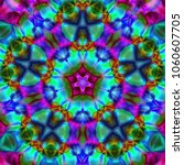psychedelic background. bright... | Shutterstock . vector #1060607705