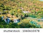 krka national park  nature... | Shutterstock . vector #1060610378