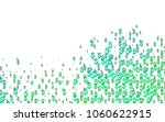 light blue  green vector cover... | Shutterstock .eps vector #1060622915