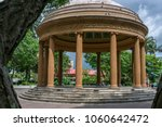 a few steps lead up to a... | Shutterstock . vector #1060642472