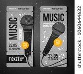 vector illustration gray music... | Shutterstock .eps vector #1060644632