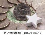a quarter of north dakota  ...   Shutterstock . vector #1060645148