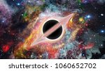 black hole. science fiction... | Shutterstock . vector #1060652702