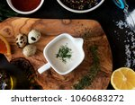 assortment of ingredients for... | Shutterstock . vector #1060683272