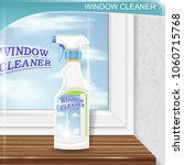 spray for window cleaning ... | Shutterstock .eps vector #1060715768