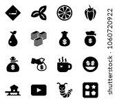 solid vector icon set   smoking ...