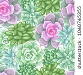 seamless pattern with... | Shutterstock .eps vector #1060765355