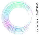 design elements. curved rainbow ...   Shutterstock .eps vector #1060774208