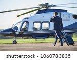 rear view of businessman...   Shutterstock . vector #1060783835