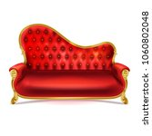 vector realistic luxurious red... | Shutterstock .eps vector #1060802048