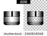 3d white realistic cosmetic... | Shutterstock .eps vector #1060818368