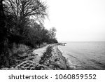 black and white photo of a...   Shutterstock . vector #1060859552
