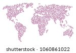 geographic concept map... | Shutterstock .eps vector #1060861022