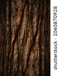 the natural dark tree and wood... | Shutterstock . vector #1060870928