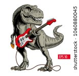 Dinosaur Playing Electric...