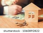 concept of real estate. sale... | Shutterstock . vector #1060892822
