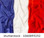 france national flag with... | Shutterstock . vector #1060895252