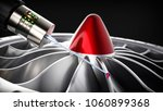 measuring probe for measuring a ... | Shutterstock . vector #1060899368