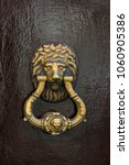 Door Knocker Close Up On A...