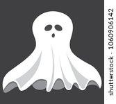 vector illustration of ghost | Shutterstock .eps vector #1060906142