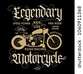 motorcycle sport emblem  biker... | Shutterstock .eps vector #1060911368