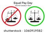 vector illustration of equal... | Shutterstock .eps vector #1060919582