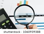 business performance review by...   Shutterstock . vector #1060939388