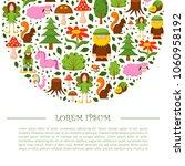 vector illustration  cartoon... | Shutterstock .eps vector #1060958192