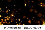 abstract golden glitter light... | Shutterstock . vector #1060970705