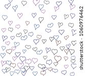 hand drawn hearts. background.  ... | Shutterstock .eps vector #1060976462
