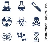 vector set of chemical and... | Shutterstock .eps vector #1060983146