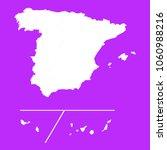 spain provinces map white map... | Shutterstock .eps vector #1060988216
