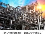 close up oil and gas refinery... | Shutterstock . vector #1060994582