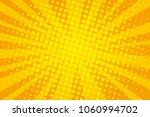 orange pop art retro background ... | Shutterstock .eps vector #1060994702