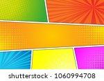 colorful pop art retro... | Shutterstock .eps vector #1060994708