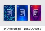 minimal covers design. | Shutterstock .eps vector #1061004068