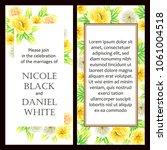 vintage delicate invitation... | Shutterstock .eps vector #1061004518